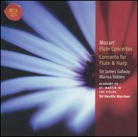 Mozart: Flute Concertos; Concerto for Flute & Harp - James Galway (flute); Marisa Robles (harp); Academy of St. Martin-in-the-Fields; Neville Marriner (conductor)