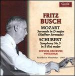 Mozart: Haffner Serenade; Schubert: Symphony No. 5