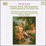 "Mozart: ""Kegestatt"" Trio, K. 498; Clarinet Quartets, K. 317d & K. 496l"