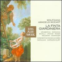 Mozart: La Finta Giardiniera - Anton Scharinger (vocals); Charlotte Margiono (vocals); Concentus Musicus Wien; Dawn Upshaw (vocals);...