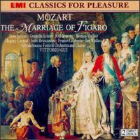 Mozart: Le nozze di Figaro - Daniel McCoshan (tenor); Franco Calabrese (vocals); Graziella Sciutti (soprano); Gwyn Griffiths (baritone); Hugues Cuénod (tenor); Ian Wallace (bass); Jeannette Sinclair (soprano); Monica Sinclair (contralto); Raymond Leppard (continuo)