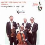 Mozart: Milan Quartets, K. 155-160