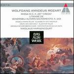 "Mozart: Missa ""Credo""; Litaniae de venerabili altaris sacramento"