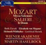 Mozart: Missa Solemnis; Salieri: Te Deum