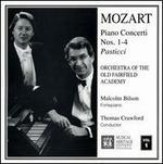 Mozart: Piano Concerti Nos. 1-4