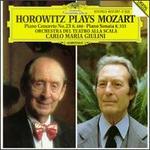 Mozart: Piano Concerto No. 23; Piano Sonata No. 13 - Vladimir Horowitz (piano); La Scala Theater Orchestra; Carlo Maria Giulini (conductor)