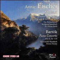 Mozart: Piano Concertos No. 21, K 467 & No. 25, K.48s; Bartók: Piano Concerto No. 3, Sz.119 - Annie Fischer (piano)