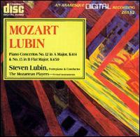 Mozart: Piano Concertos Nos. 12 & 15 - Anca Nicolau (violin); Bonnie Richards (violin); Bruce Berg (violin); David Miller (viola); Dennis L. Godburn (bassoon);...
