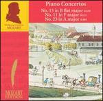 Mozart: Piano Concertos Nos. 15, 11, 23