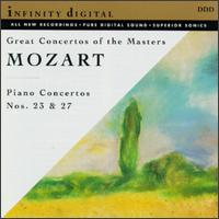 Mozart: Piano Concertos Nos. 23 & 27 - Veronika Reznikovskaya (piano); St. Petersburg Classic Music Studio Orchestra; Alexander Titov (conductor)
