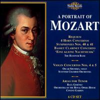 Mozart Portrait - Anthony Halstead (natural horn); Christopher Kite (fortepiano); Colin Lawson (clarinet); David Thomas (bass);...