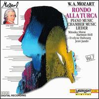 Mozart: Rondo alla Turca - Arkadi Zenziper (piano); Eckart Haupt (flute); Evelyne Dubourg (piano); Gerhard Pluskwik (cello); Gyula Kiss (piano);...