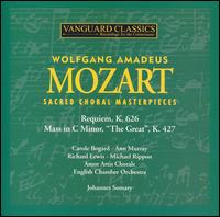 Mozart: Sacred Choral Masterpieces - Ann Murray (mezzo-soprano); Carole Bogard (soprano); Michael Rippon (bass); Richard Lewis (tenor);...