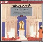 Mozart: Sacred Music (including the Requiem and Ave verum corpus)