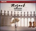 Mozart: Serenades for Orchestra - Celia Nicklin (oboe); Erik Smith (candenza); Graham Sheen (candenza); Iona Brown (violin); John Constable (harpsichord); Kenneth Sillito (violin); Malcolm Latchem (violin); Michael Laird (posthorn); Raymund Koster (double bass); Stephen Shingles (viola)
