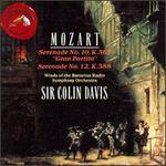 Mozart: Serenades K. 361 & K. 388