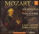 Mozart: Six Sonates, K. 301-306 & Variations, K. 359-360