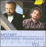 Mozart: Sonatas for Piano & Violin, KV303, 377, 378 & 481