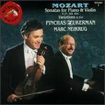 Mozart: Sonatas for Piano & Violin, Vol. 2