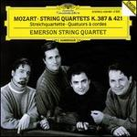 Mozart: String Quartets K. 387 & 421 - David Finckel (cello); Emerson String Quartet; Eugene Drucker (violin); Lawrence Dutton (viola); Philip Setzer (violin)