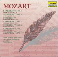Mozart: Symphoies Nos. 1, 4, 5, 6, 7 & 55/Symphony In F - Prague Chamber Orchestra; Charles Mackerras (conductor)