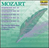 Mozart: Symphonies Nos. 19, 20, 21, 22 & 23 - Prague Chamber Orchestra; Charles Mackerras (conductor)