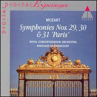 Mozart: Symphonies Nos. 29, 30 & 31 - Royal Concertgebouw Orchestra; Nikolaus Harnoncourt (conductor)