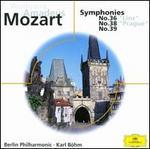 Mozart: Symphonies Nos. 36, 38 & 39