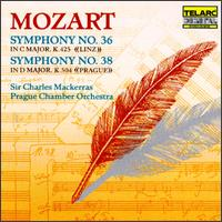 Mozart: Symphonies Nos. 36 & 38 - Prague Chamber Orchestra; Charles Mackerras (conductor)