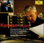 Mozart: Symphonies Nos. 39, 40, 41; Eine Kleine Nachtmusik; Serenata notturna - Emil Maas (violin); Friedrich Witt (double bass); Giusto Cappone (viola); Leon Spierer (violin); Berlin Philharmonic Orchestra; Herbert von Karajan (conductor)
