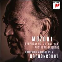 "Mozart: Symphony No. 35 ""Haffner""; Posthorn Serenade - Concentus Musicus Wien; Nikolaus Harnoncourt (conductor)"