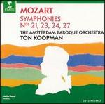 Mozart: Symphony Nos. 21, 23, 24, 27