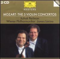 Mozart: The 5 Violin Concertos - Itzhak Perlman (candenza); Itzhak Perlman (violin); Joseph Joachim (candenza); Sam Franko (candenza); Wiener Philharmoniker; James Levine (conductor)