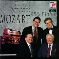 Mozart: The Piano Quartets - Emanuel Ax (piano); Isaac Stern (violin); Jaime Laredo (viola); Yo-Yo Ma (cello)