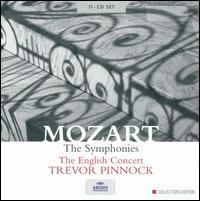 Mozart: The Symphonies - The English Concert; Trevor Pinnock (conductor)