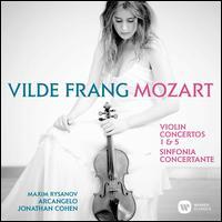 Mozart: Violin Concertos 1 & 5; Sinfonia Concertante - Arcangelo (chamber ensemble); Jonathan Cohen (violin cadenza); Joseph Joachim (violin cadenza); Maxim Rysanov (viola);...