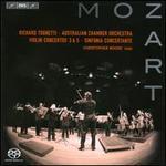 Mozart: Violin Concertos 3 & 5; Sinfonia Concertante