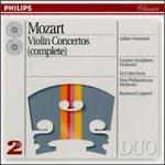 Mozart: Violin Concertos (Complete) - Arrigo Pelliccia (viola); Arthur Grumiaux (violin)