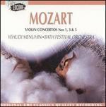 Mozart: Violin Concertos Nos. 1, 3 & 5