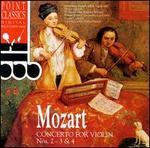 Mozart: Violin Concertos Nos. 2-4