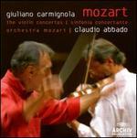 Mozart: Violin Concertos; Sinfonia Concertante - Danusha Waskiewicz (viola); Giuliano Carmignola (violin); Mozart Chamber Orchestra; Claudio Abbado (conductor)