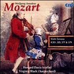 Mozart: Violin Sonatas, K301, 305, 377 & 379