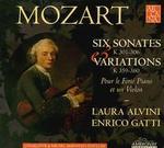 Mozart: Violin Sonatas & Variations