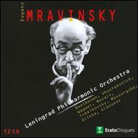 Mravinsky Conducts the Leningrad Philharmonic Orchestra - Yevgeny Mravinsky (speech/speaker/speaking part); Leningrad Philharmonic Orchestra; Yevgeny Mravinsky (conductor)
