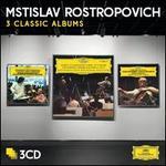 Mstislav Rostropovich: 3 Classic Albums