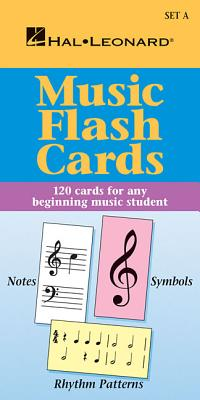 Music Flash Cards - Set a: Hal Leonard Student Piano Library - Blake, And Jeff Schroedl, and Hal Leonard Publishing Corporation (Creator)