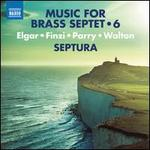 Music for Brass Septet, Vol. 6: Elgar, Finza, Parry, Walton
