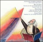 Music for Ross Lee Finney, Edwin London, Francis Thorne - Christine Schadeberg (soprano); Norman Fischer (cello); Cleveland Chamber Symphony Orchestra