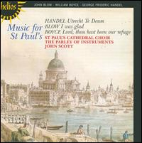 Music for St. Paul's - Alastair Cook (treble); Andrew Dale Forbes (bass); Ashley Stafford (counter tenor); Edward Burrowes (treble);...