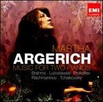 Music for Two Pianos: Brahms, Lutoslawski, Prokofiev, Rachmaninov, Tchaikovsky